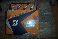 2 dozen BRAND NEW 2017 Bridgestone E6 Soft golf balls white