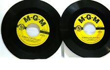 GENE KELLY I GOT RHYTHM PART OF A BOX SET, LOOK AT PHOTOS LOT OF 2 45 RPM RECORD