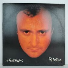 Phil Collins No Jacket Required LP Vinyl Album 81240-1-E Rock Atlantic Records