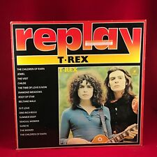 T-REX  1985 UK Vinyl LP EXCELLENT CONDITION same self titled replay Marc Bolan