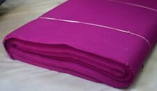 10 Yard 100 % Cotton Plain Purple Indian Cloth Natural Medium Weight Fabric