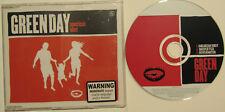 GREEN DAY...AMERICAN IDIOT...3 TRACK AUSTRALIAN PRESSING SINGLE MUSIC CD
