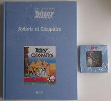 livre les archives d'astérix astérix et cléopatre + figurine