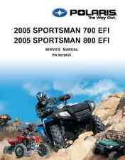 CD Version - Polaris 2005 ATV Sportsman 700 EFI / 800 EFI service manual