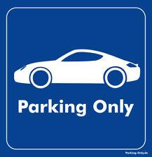 Parking Only - Porsche Cayman - Aufkleber