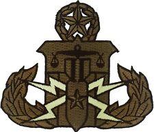 Law Enforcement EOD/HDT Master Patch (Brown)