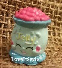 NEW Shopkins Season 1 Rare blue Jelly B. 1-054 figure beans candy