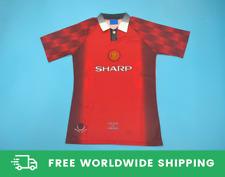 Manchester United 1996-1998 Short-Sl. Jersey Shirt Cantona Beckham Sizes S-XXL