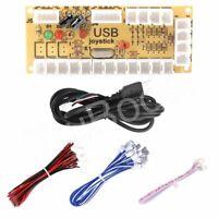 Zero Delay USB Encoder PC Arcade Joystick Button Cable 5Pin 2pin 4.8mm DIY MAME