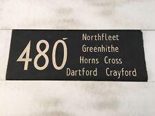 "London Bus Blind J 1975 33""- 480 Northfleet Greenhithe Horns Cross Dartford Cra"