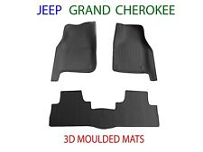 To suit Jeep Grand Cherokee WK2   2011 onw. 3D Rubber Moulded Car Floor Mats
