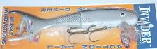 "9"" Shallow Invader Musky Innovations Muskie Pike White Fish UV Reflex Plastic Tl"