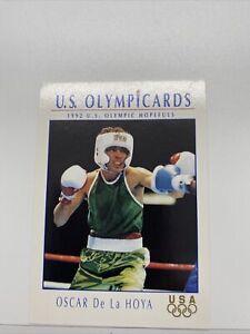 🥇Rare 1992 Impel US Olympicard #23 Oscar De La Hoya Rookie Vintage PSA Ready