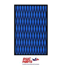 "HYDRO TURF Traction Mat Roll - Cut Diamond - Blue/Black 37"" x 58"" - No Adhesive"
