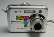 "Pentax Optio E20 Digital Camera 6.0 MP 2.4"" Good Condition"