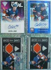 Calvin de Haan RC Autograph Jersey Rookie Lot of (4) Chicago Blackhawks