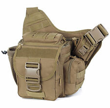 New 1X Army Militar Outdoor Backpack Bag Tacticl Wais Belt Camping Hiking Wallet
