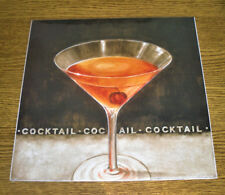 POSTER ARTISTICO EGIM 30X30 COCKTAIL MADE IN ITALY 2007