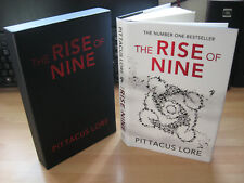 Pittacus Lore - The Rise Of Nine Signed Numbered Slipcased 1st Lorien Legacies