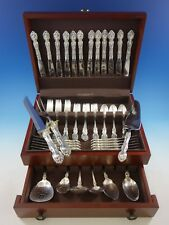 La Reine by Wallace Sterling Silver Flatware Set for 12 Service 68 Pieces