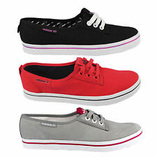 adidas Canvas Lace Up Athletic Shoes for Women
