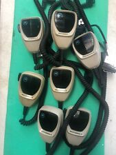 7 Motorola Microphones Hmn1080a Spectra Syntor X9000 Radio Mics Police Surplus