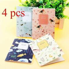 4Pcs Cute Cartoon Paper Notepad Memo Diary Journal Notebook Exercise Book Gifts