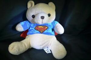 Superman Movie World Toys Plush Toy Cuddly Stuffed Animal Teddy Bear Gift Doll