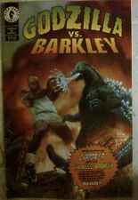 GODZILLA VS CHARLES BARKLEY 1993 Based On The Nike Commercial!!!!!!!!
