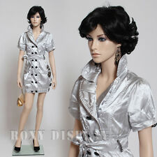 Fiberglass Female Display Mannequin Manikin Manequin Dummy Dress Form #Mz-Echo