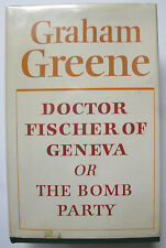 Graham Greene DOCTOR FISHER of GENEVA 1st edition1980 London UK hardbound novel