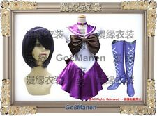 Costume Wig Boots B3 Super Sailor Moon Cosplay Tomoyo Hotaru Sailor saturn