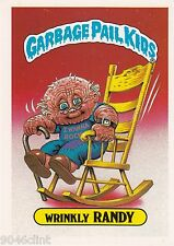 1986 TOPPS GARBAGE PAIL KIDS 1ST SERIES GIANT #35 WRINKLY RANDY NM CONDITION GPK