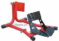 """Motorbike Wheel Chock 15-19"""" wheels BIKE Jack Clamp Stand Stee(Colour Black)"""
