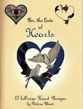 'For the Love of Hearts' Stained Glass Patterns - Wonderful Heart Designs!