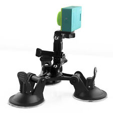 Car Suction Cup Mount Camera Stand for Sport Camera 4 3+3 Xiaomi Action SJ4000