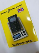 Cellphone. the lightest phone in the world