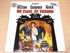 55 Days At Peking/1963 CBS Mono Soundtrack LP/Dimitri Tiomkin