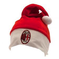 AC Milan Santa Sombrero Supersoft Regalo Navidad nuevo producto con Licencia Oficial Fútbol