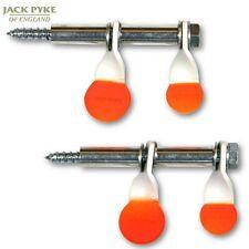 Jack Pyke Doble Mini Spinner blanco 2 Pack TIRO práctica Rifle aire BB