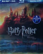 Harry Potter and the Deathly Hallows Part 2 (4-Disc Blu-ray set) EXCELLENT MINT