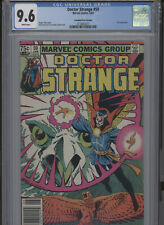 DOCTOR STRANGE #59 NM 9.6 CGC CANADIAN PRICE VARIANT WHITE PAGES GREEN COVER ART