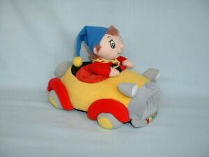 NODDY & FRIENDS Vibrating Cuddly Soft Plush Toy Car With Sound (BLYTON/TOYLAND)