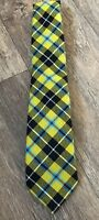 Mens Clan Tartan Tie Barclay Dress Modern 100% Wool Lochcarron of Scotland New