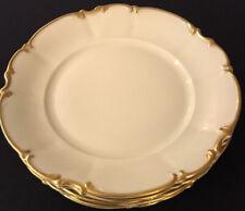 "HUTSCHENREUTHER GERMANY BRIGHTON PORCELAIN DINNER PLATE SET OF 8-10 1/8""DIAMETER"