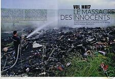 Clipping press clipping 2014 (14 pages) mh17 flight crash malaysia airlines