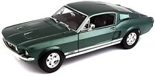 1967 Ford Mustang GTA Fastback Verde Metalizado Maisto 31166