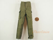 1 6 Action Figure US Military Army Soldier Green Pants Trousers Uniform DA200