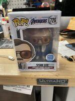 Funko Pop! Avengers Endgame - Stan Lee 726 LE w/Pop Protector
