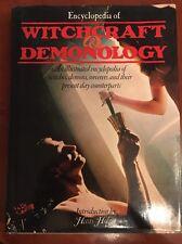 ENCYCLOPEDIA OF WITCHCRAFT & DEMONOLOGY, Illustrated, Hans Holzer Vtg 1st Ed